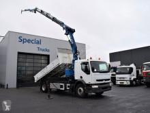 camion Renault 220 kipper + MKG HLK 161 A4 + Flyjibb (Only 85012 km!!!)