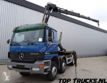camion Mercedes 3235 Hiab 16TM kraan, Crane, Kran - 21t. Haakarm, Hooklift, Abrolkipper