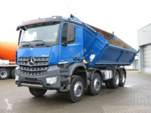 camion Mercedes Arocs 4142 8x4 4-Achs Kipper Grounder
