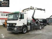 camión Mercedes Actros 2541 L6x2 Abrollkipper mit Kran Funk
