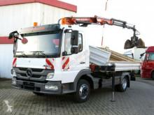 camion Mercedes Atego 818 K 2-Achs Kipper Kran