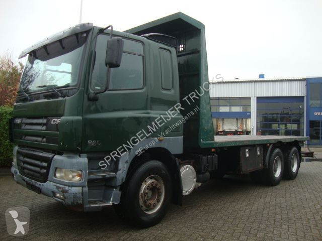 Voir les photos Camion DAF 480 STEEL SPRINGS 8 M CHASSIS