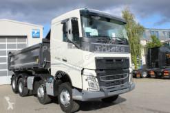 Volvo three-way side tipper truck