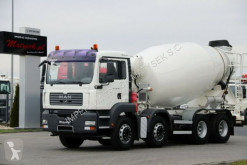 MAN TGA 32.360 / 8X4 / CEMENTMIXE 9M3 /MANUAL / truck