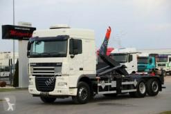 ciężarówka DAF XF 105.460 / 6X2/ HOOKLIFT / DALBY SHM3/RETARDER