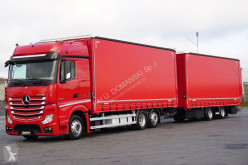 camion nc MERCEDES-BENZ - ACTROS / 2545 / E 6 / ZESTAW 120 M3 / BIG SPACE + remorque