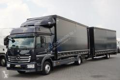 camião Mercedes MERCEDES-BENZ - ATEGO / 1230 / EURO 6 / ZESTAW FIRANKA / AUTOMAT + remorque