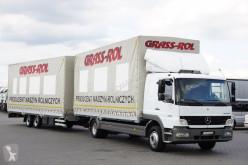 camião Mercedes MERCEDES-BENZ - ATEGO / 1223 / ZESTAW PRZESTRZENNY / MANUAL + remorque