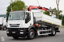 kamion Iveco IVECO - STRALIS / 190S31 / WYWROTKA + HDS 110