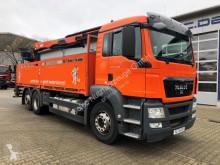 Voir les photos Camion MAN TGS 26.400 6x2 Pritsche Kran Palfinger PK 21001L