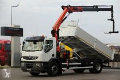 ciężarówka Renault LANDER 310/ TIPPER+CRANE PALFINGER PK14002/RADIO