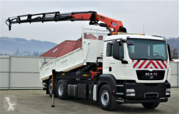 camion MAN TGS 26.400 Kipper 5.60m + Kran/FUNK !!!