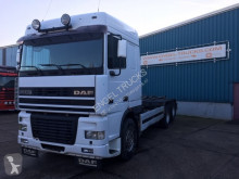 camion DAF FAS95-430XF SPACECAB (EURO 2 / 10 TIRES / ZF MANUAL GEARBOX / LIFT-AXLE / AIRCONDITIONING)