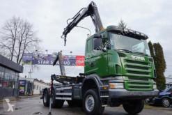 camion Scania R 380 6x6 HIAB 144 Abrollkipper mit Haken HOOK