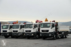 kamion MAN TGS 26.360/ 6X4/ 3 SIDED TIPPER/BORTMATIC+CRANE