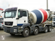camion betoniera cu rotor/ Malaxor MAN