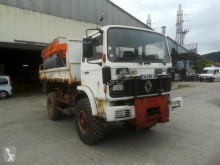 used snow plough-salt spreader