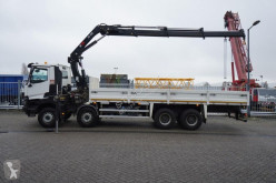 camion Renault K 460 OPEN BOX WITH HIAB 288 EP-3 HIDUO CRANE 65.000KM