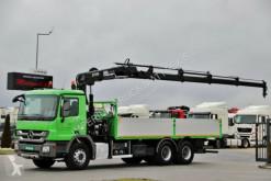 Mercedes ACTROS 2636/6x4/BOX+CRANE HIAB 166 / RADIO truck