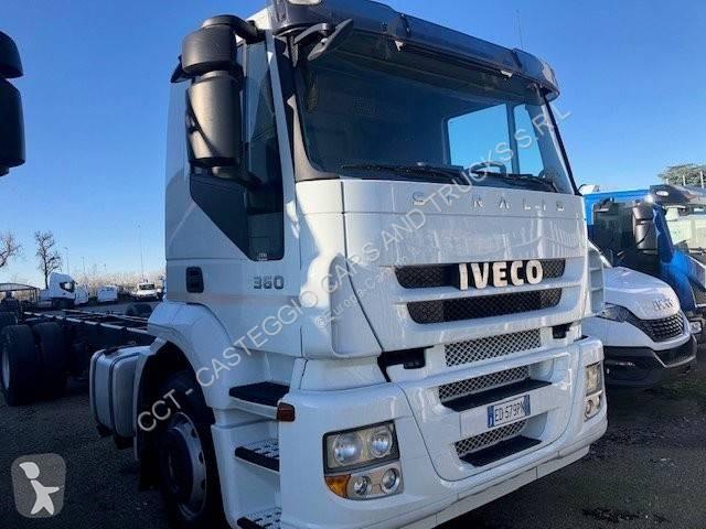 Voir les photos Camion Iveco Stralis 260 S 36