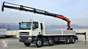 ciężarówka DAF CF 85.360 Pritsche 6,90m+Kran/FUNK *Topzustand!