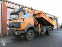 camion Mercedes SK 1824 AK 4x4 2-Achs Allradkipper Kran