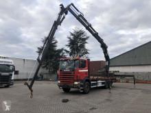 Scania 114 - - Kran/Crana 35tm Pallfinger JIP - BELGIUM TOP TRUCK truck