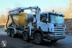 camion betoniera cu rotor/ Malaxor Scania