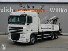 camion DAF XF 105.410, 6x4, EEV, Palfinger PK 38502 B Kran