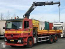 ciężarówka Mercedes ACTROS 2532 HIAB 12T/M KRAAN / BDF OPEN LAADBAK