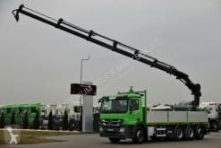 ciężarówka Mercedes ACTROS 3236 /BOX +CRANE HIAB 211 / RADIO