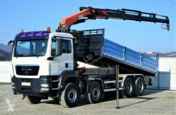 ciężarówka platforma MAN