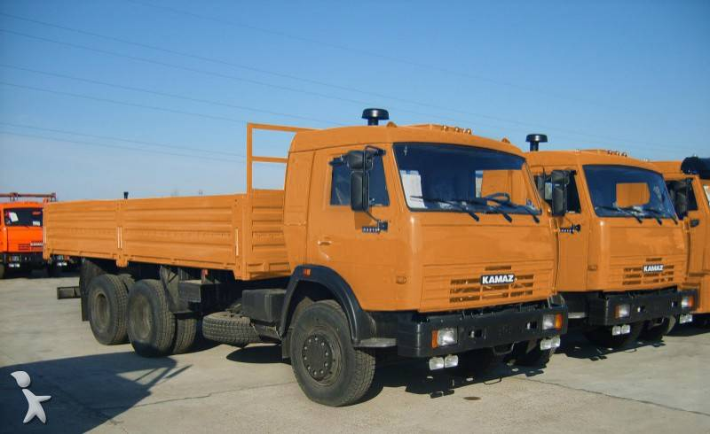 camion kamaz plateau 53215 6x4 euro 2 neuf n 468545. Black Bedroom Furniture Sets. Home Design Ideas