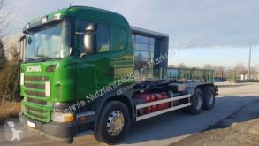 camion Scania R420 CB 6x4 HSZ HYVA 22 60S Abrollkipper Blatt
