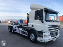 camion DAF CF 460/6x2 Lenkachse / Gergen Abroller