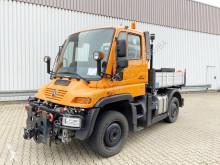 maquinaria vial vehículos especiales Unimog