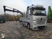 ciężarówka Mercedes 2642 Pritsche ATLAS 120,2E 3x hydr. Aussch. Funk