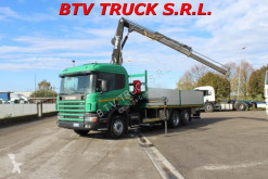 camion platformă si obloane Scania
