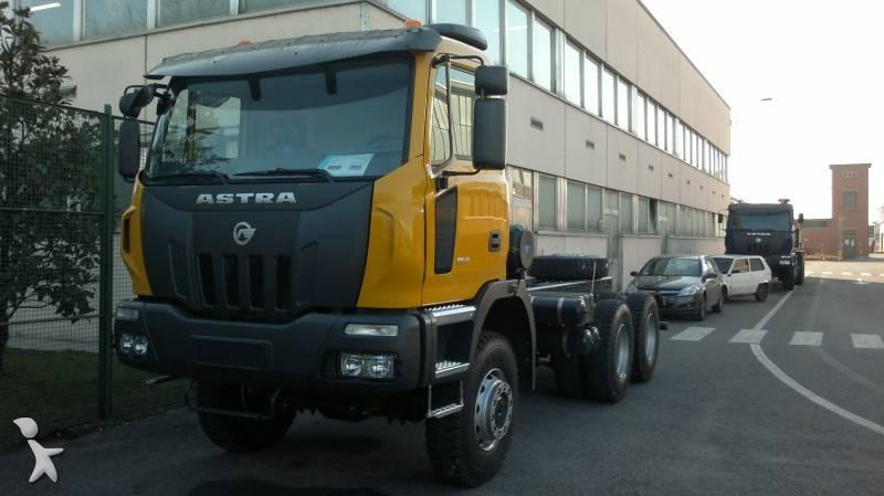 camion astra ch u00e2ssis hd8 66 40 6x6 gazoil euro 3 neuf