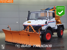 Mercedes Unimog 424 Good-Condition! Snowplough