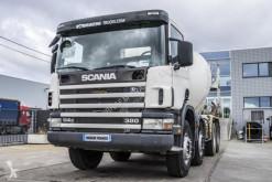 camion Scania 114C380 + BETONMIXER 9M³
