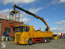 camion Scania R 400 6x2 Pritsche Heckkran