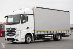 ciężarówka firanka Mercedes