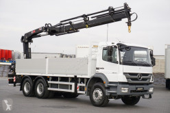 Hiab MERCEDES-BENZ - AXOR / 2633 / SKRZYNIOWY + HDS 211 / 6 X 4 truck