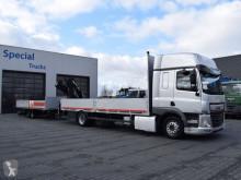 camión remolque caja abierta usado