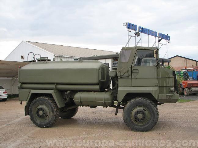 Used Pegaso military truck 4x4 - n°61311