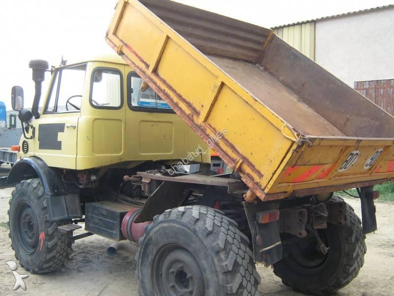 camion mercedes benne unimog u 406 gazoil occasion n 703814. Black Bedroom Furniture Sets. Home Design Ideas