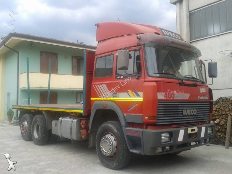 camion iveco grumier turbostar gazoil occasion n 824006. Black Bedroom Furniture Sets. Home Design Ideas