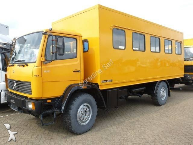 used mercedes 917 other trucks 4x4 diesel euro 0 n 875731. Black Bedroom Furniture Sets. Home Design Ideas