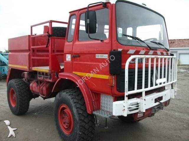 camion renault pompiers 110 150 gazoil occasion n 890058. Black Bedroom Furniture Sets. Home Design Ideas